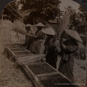 1904 – Threshing machine - Japan