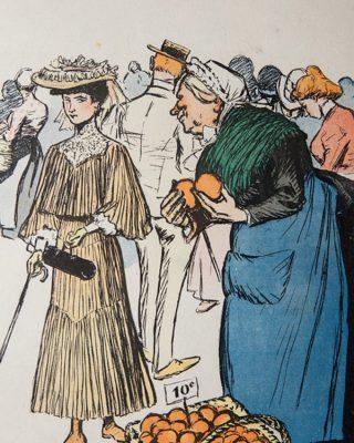 1905 - oranges - france- 3