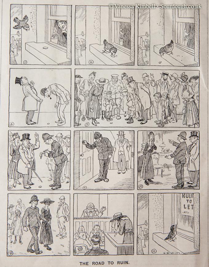 1917 – Bread rationing – UK