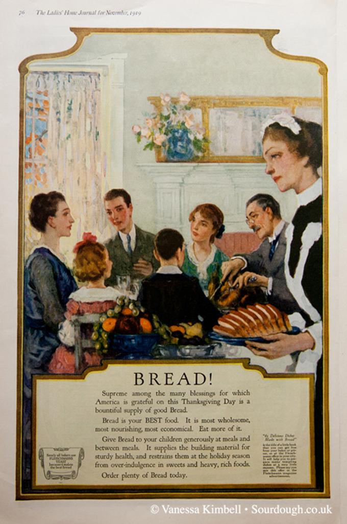 1919 – Bread – USA