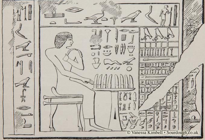 1920 – 3300bc Eqyptian bread - Egypt
