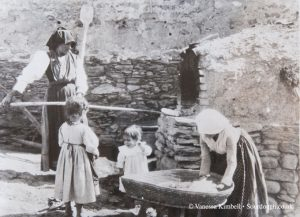 1936 – bread making – Sardinia