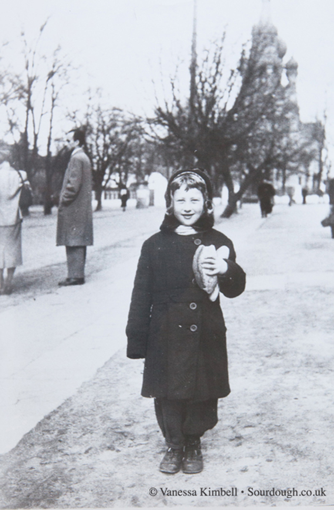 1953 – Girl with bread