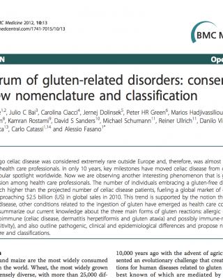 Spectrum of gluten-related disorders