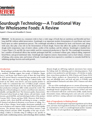 Sourdough overview