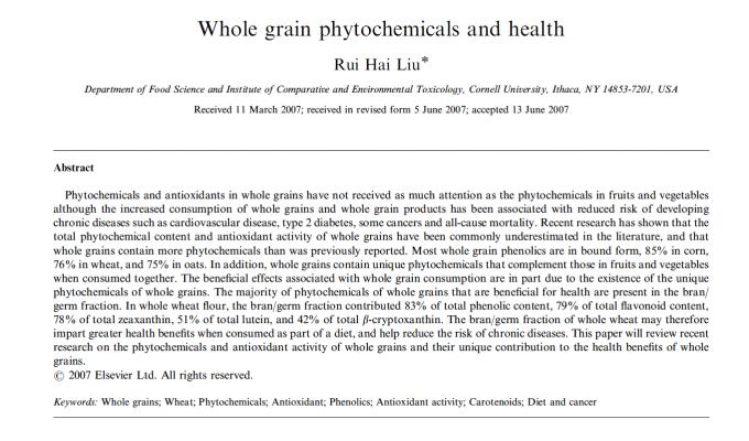 Glyphosate and health