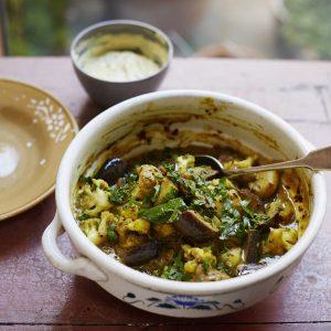 Seasonal Vegetable Curry