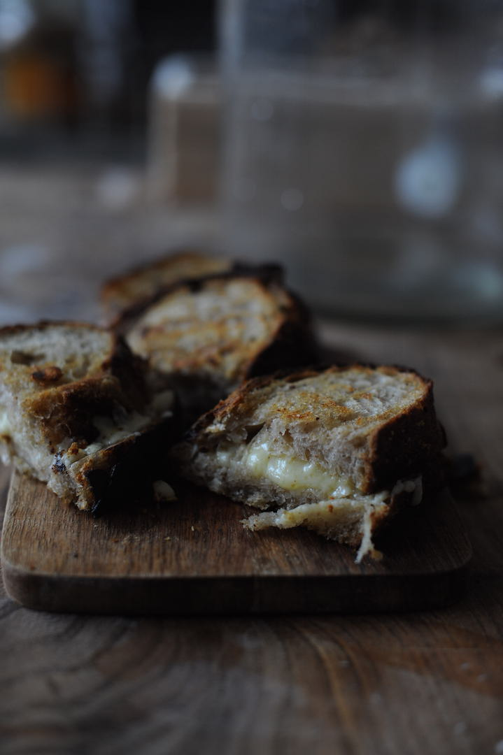 sourdough cheese toastie