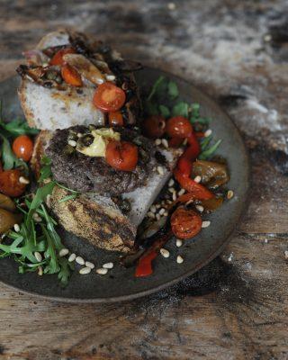 Sourdough Beef Patties