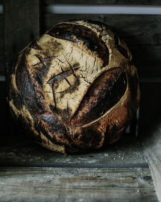 Baked Sourdough - Light and Dark