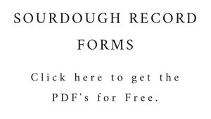 Sourdough Record Forms
