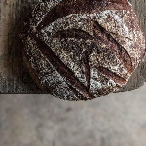 Sourdough bread on the table