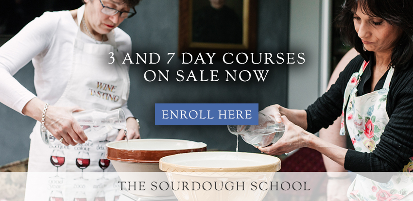 Learn in person at the Sourdough School