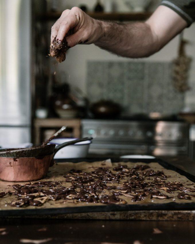 Salted Chocolate Rye Pretzels