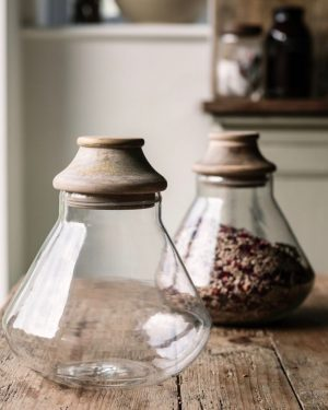 Nkuku Glass storage jars