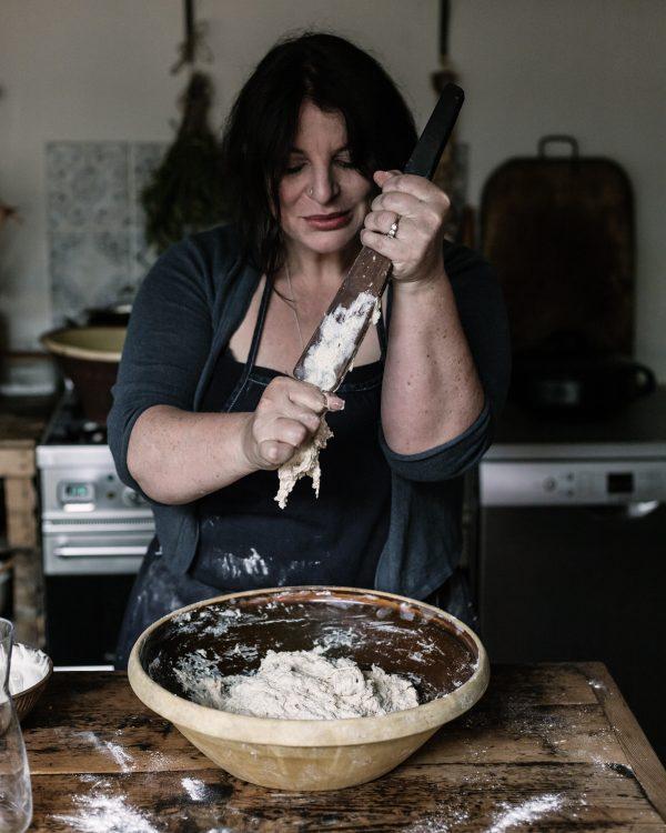 Making sourdough Vanessa Kimbell