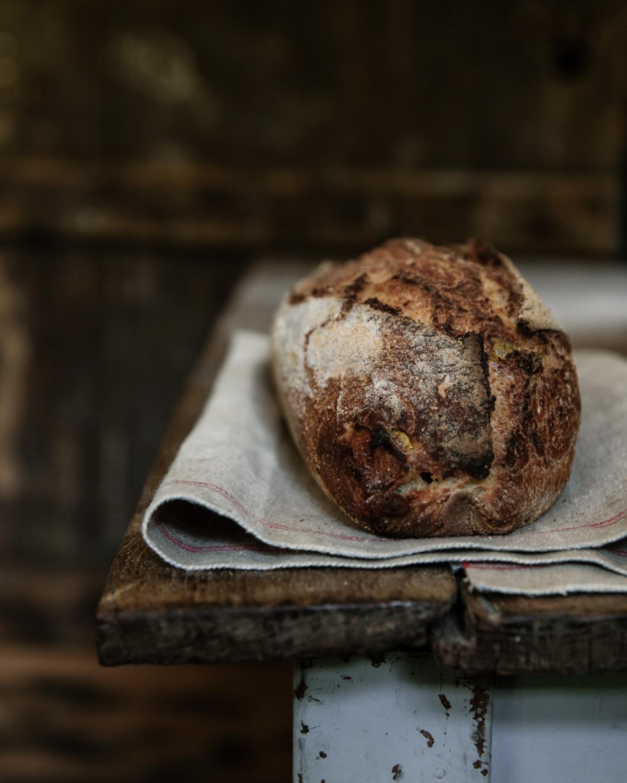 A Basic Sourdough Tin Loaf