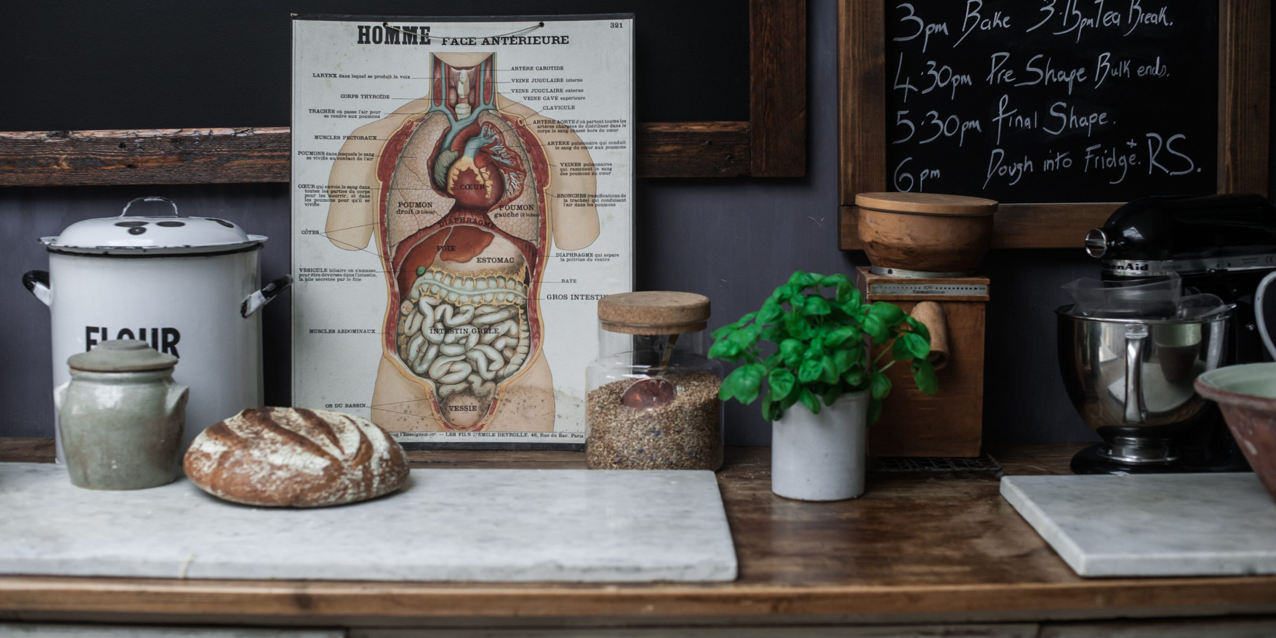 inflammation, sourdough and the gut microbiome
