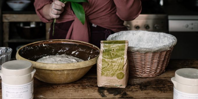 Organic Flour and Sourdough