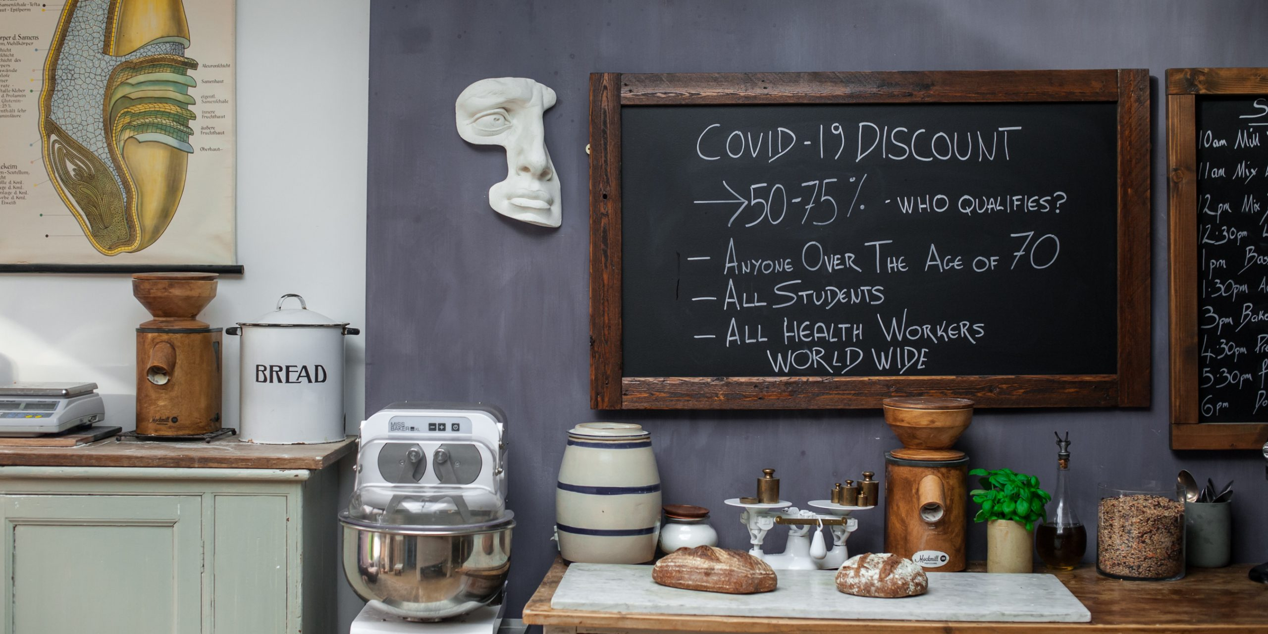 COVID- 19 Discount Code 50% and 75% off the sign-up fee