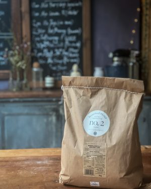 A bag of botanical Blend Flour