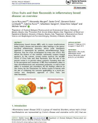 Citrus Fruit & Flavonoids
